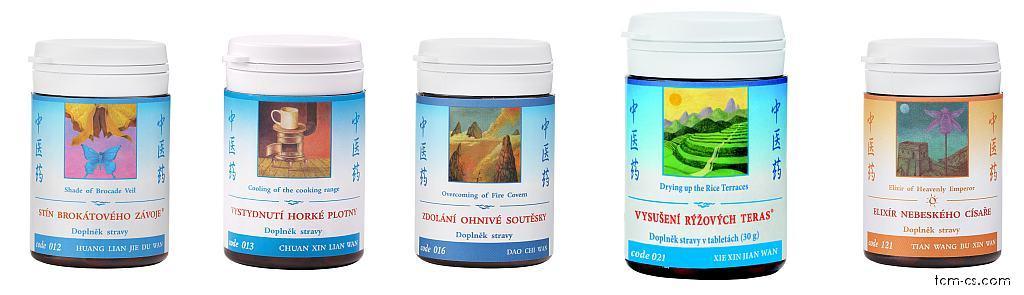 Afty - doporučované produkty TCM Herbs