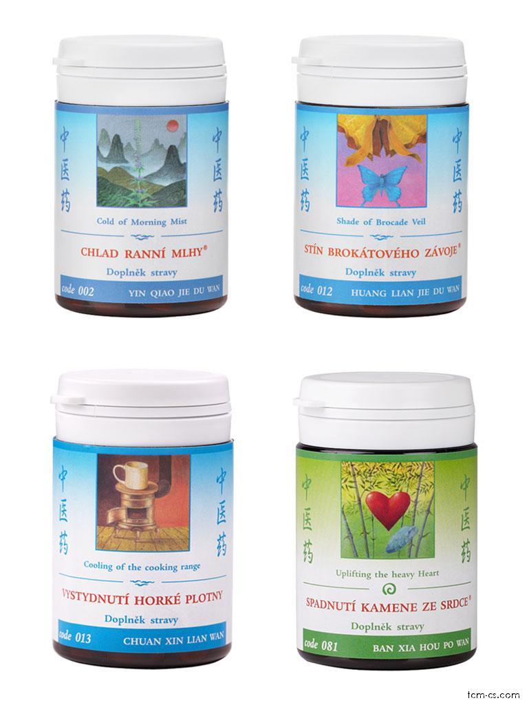Bolesti v krku - doporučované produkty TCM Herbs