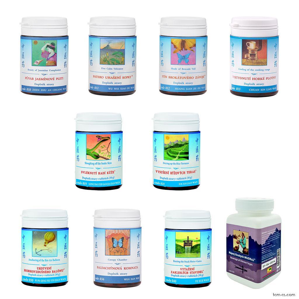 Akné - doporučované produkty TCM Herbs