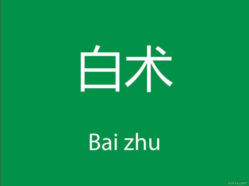 Čínské byliny (Bai zhu)