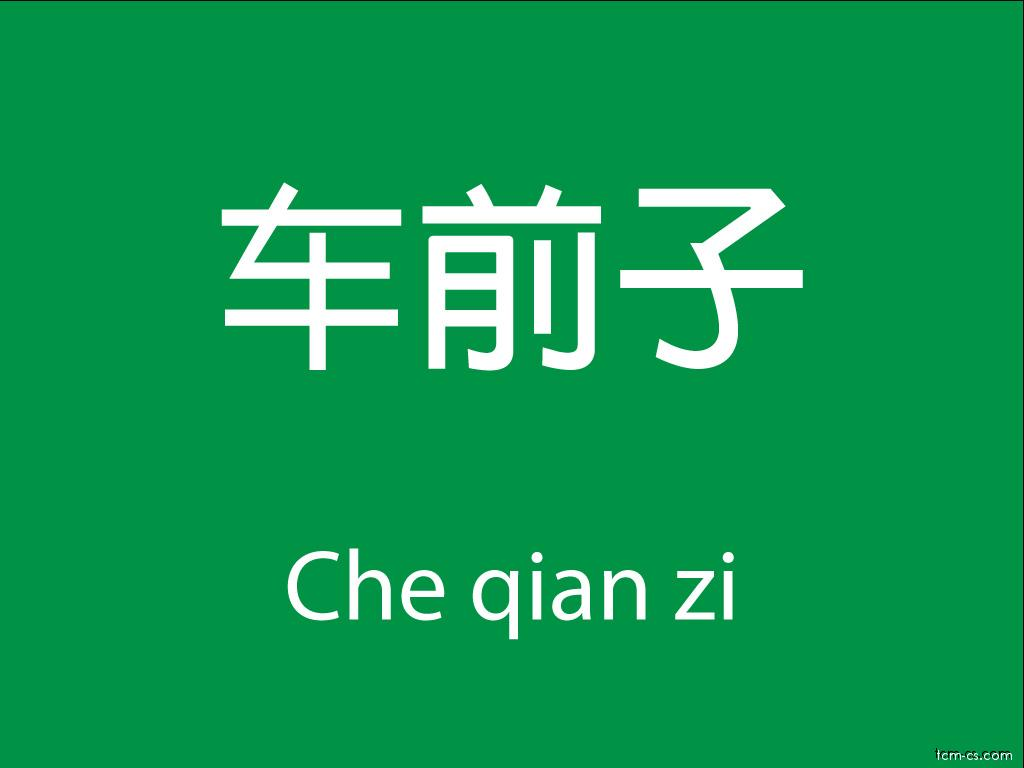 Čínské byliny (Che qian zi)