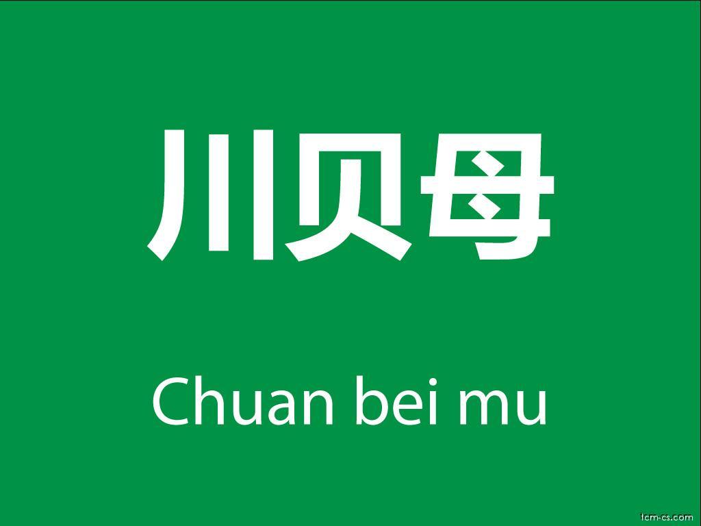 Čínské byliny (Chuan bei mu)