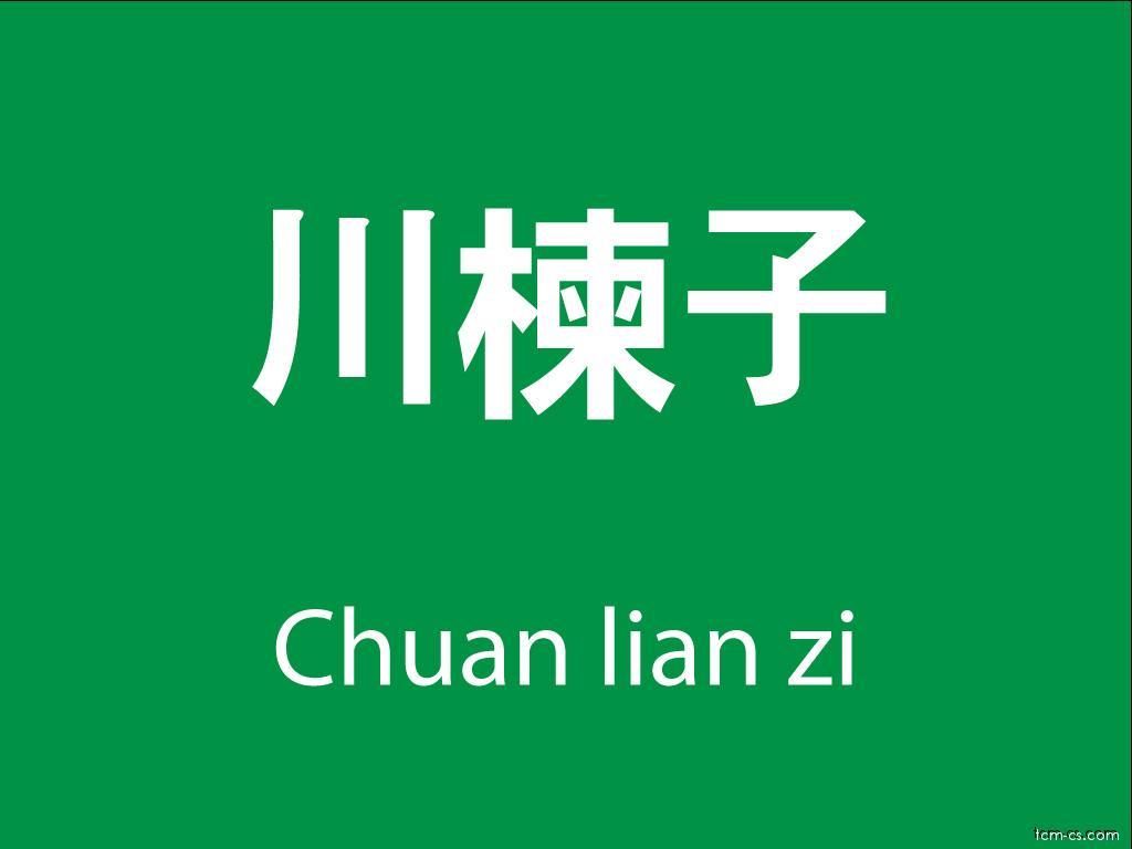 Čínské byliny (Chuan lian zi)