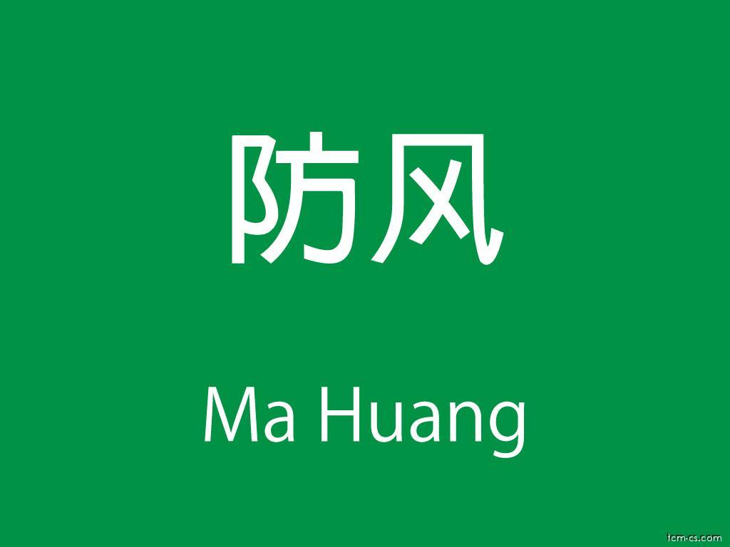 Čínské byliny (Ma Huang)