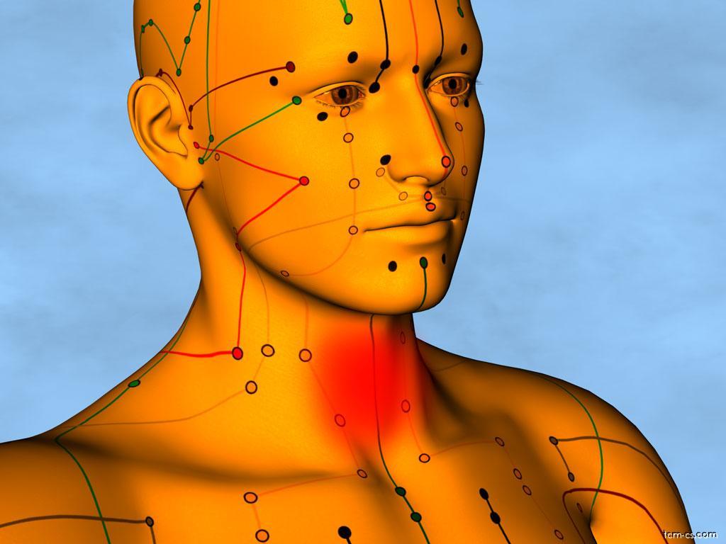 Bolesti v krku