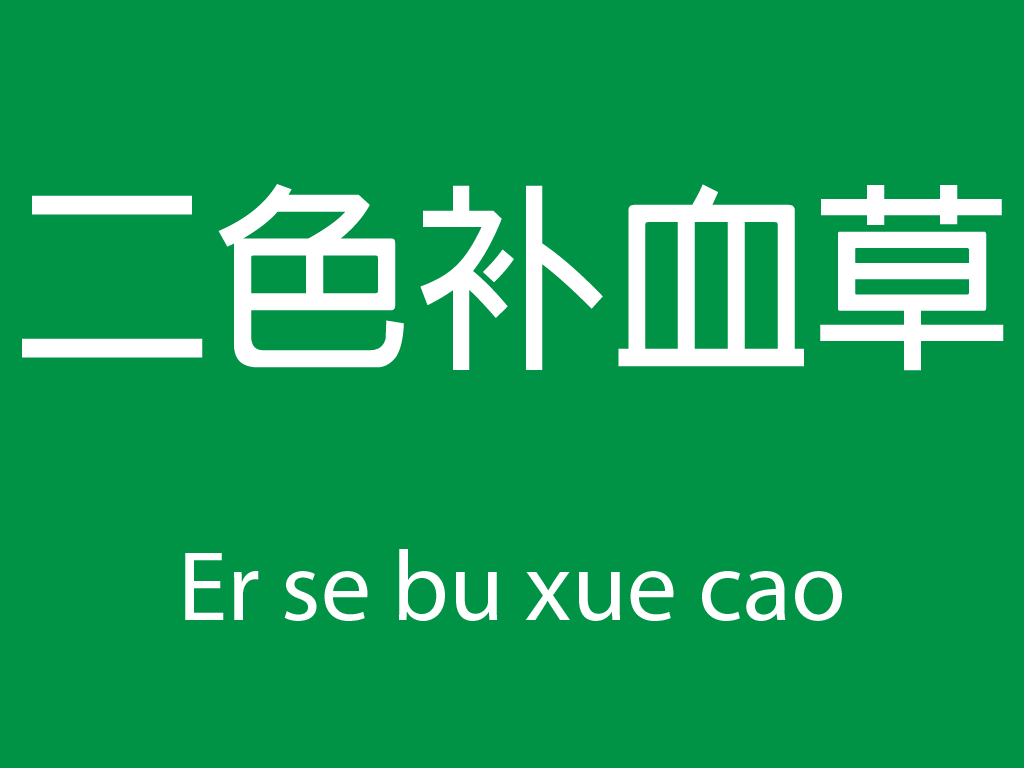 Čínské byliny (Er se bu xue cao)
