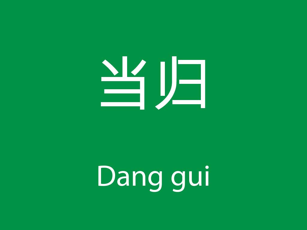 Čínské byliny (Dang gui)