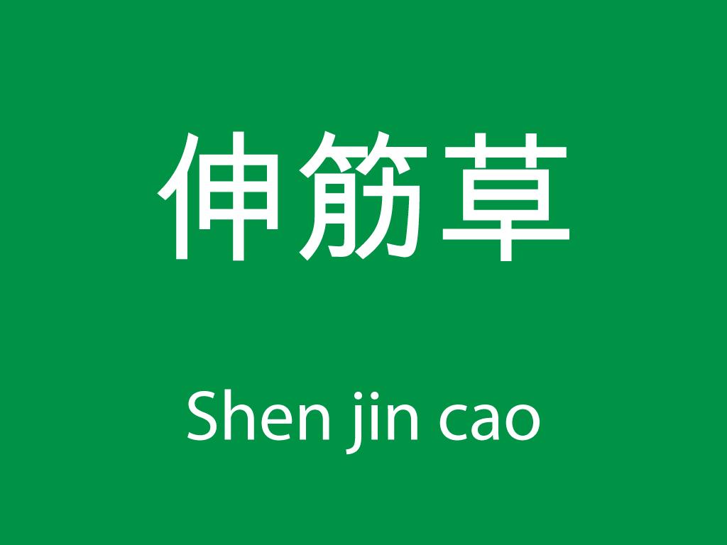 Čínské byliny (Shen jin cao)