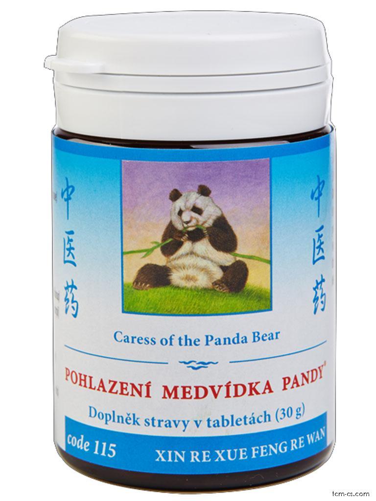 Pohlazení medvídka pandy 115 (XIN RE XUE FENG RE WAN)
