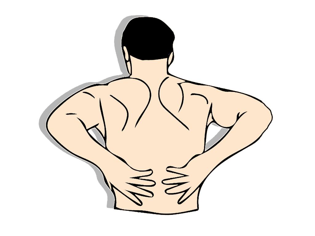 Bolesti dolní částí zad