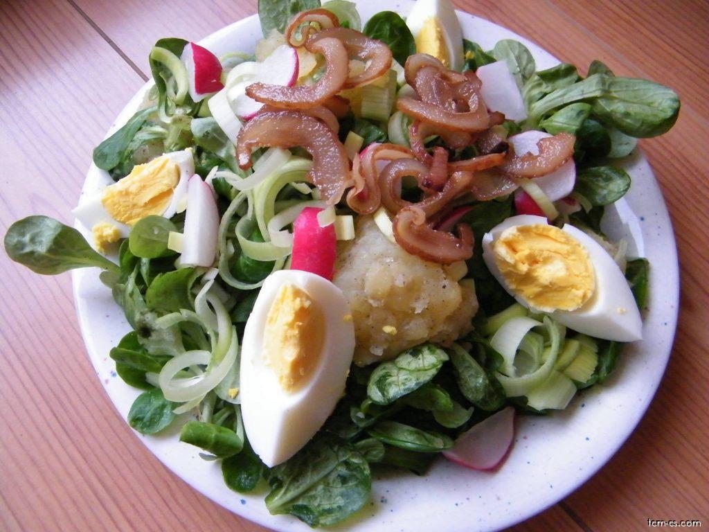 Bramborovo-polníčkový salát