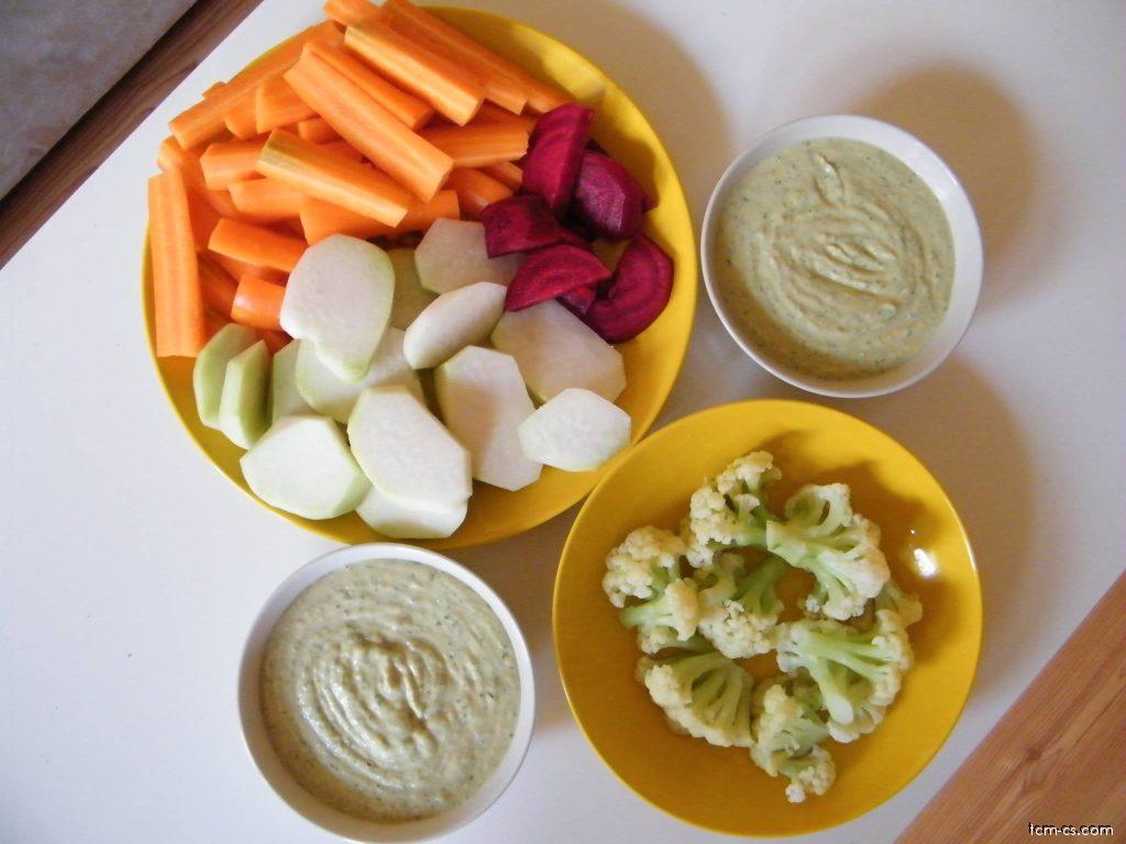 Hummus - cizrnová pasta
